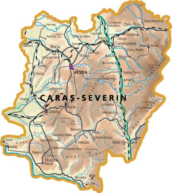 Harta-judetului-Caras-Severin