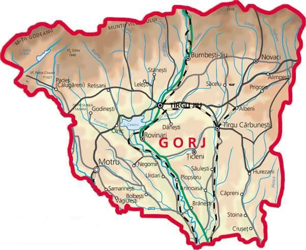 Harta-judetului-Gorj