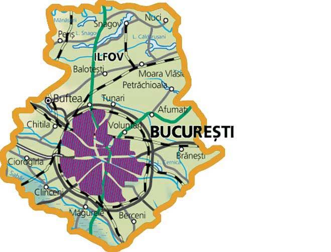 Harta-judetului-Ilfov-si-Bucuresti