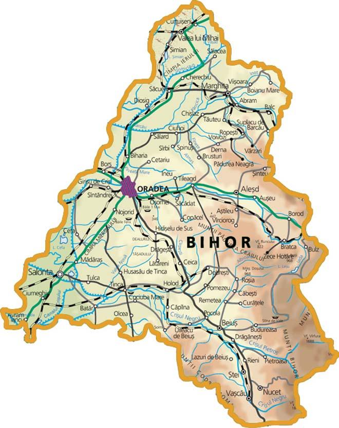 Harta-judetului-Bihor