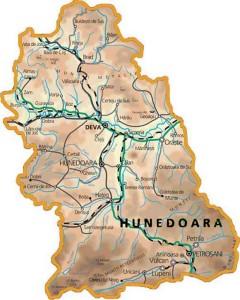 Harta-judetului-Hunedoara